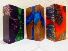 Block  resin + wood