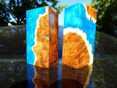 Block  resin + wood 4